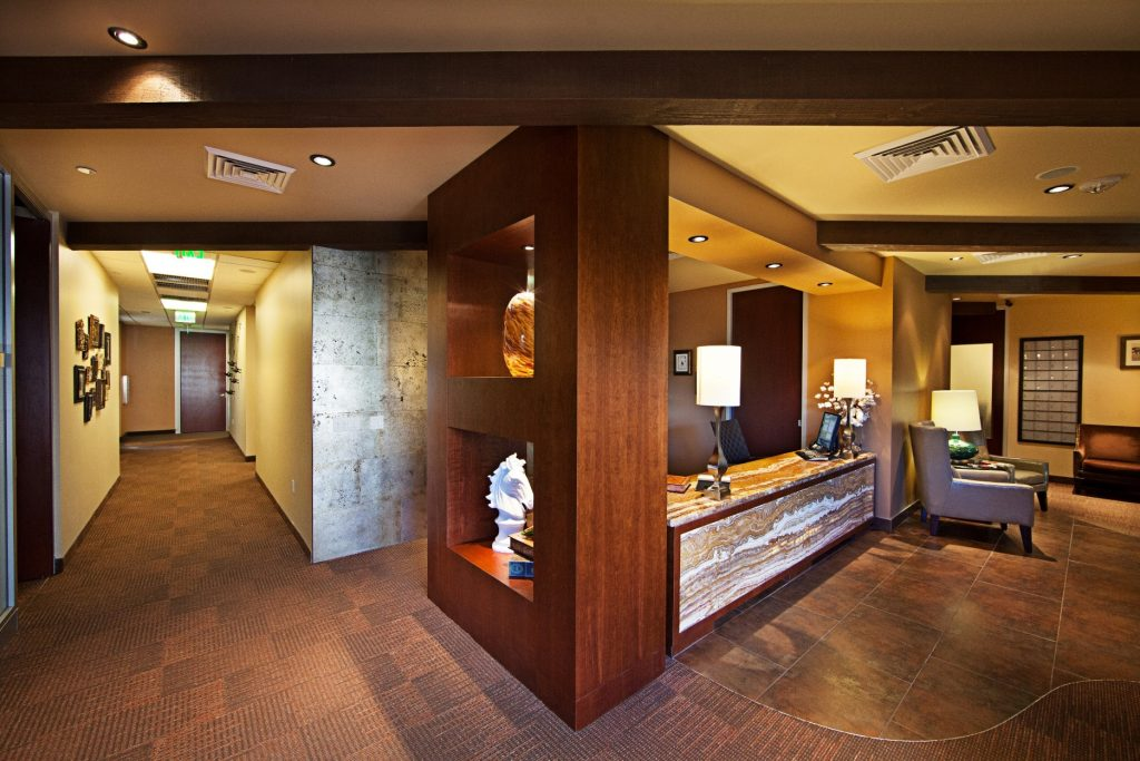 Scottsdale Lux Lobby Wide View